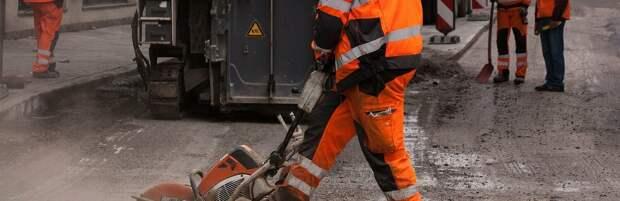 Ямочный ремонт дорог проводится в Атырау