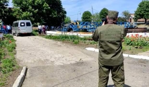 Центральный аппарат СКР расследует массовую гибель рабочих водоканала под Таганрогом