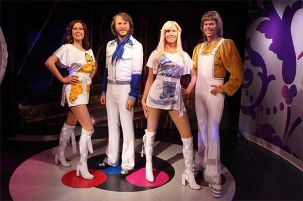 Группа ABBA - самая успешная поп-группа