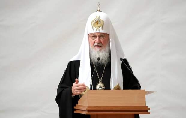Патриарх Московский и всея Руси Кирилл Валерий Шарифулин/ТАСС