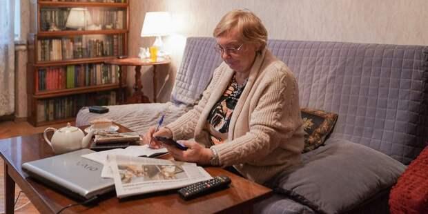 Пенсионеров из Лианозова научат читать, писать и говорить по-французски
