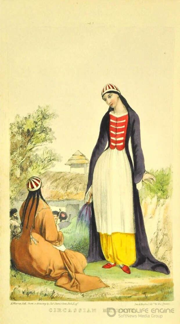 Подготовка женщины к родам у черкесов