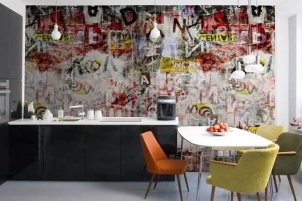 Граффити в квартире: интересный тренд в интерьере (31 фото)
