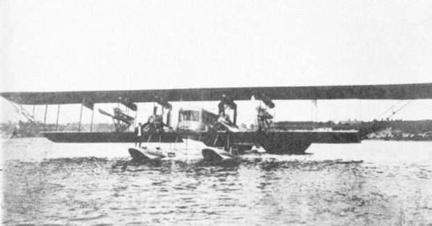 Царь-самолет: как воевал первый серийный гигант Первой мировой