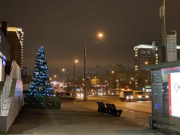 В Ярославке установят восемь новогодних ёлок в начале декабря