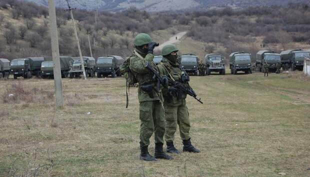 Служившего по контракту солдата застрелили в Крыму