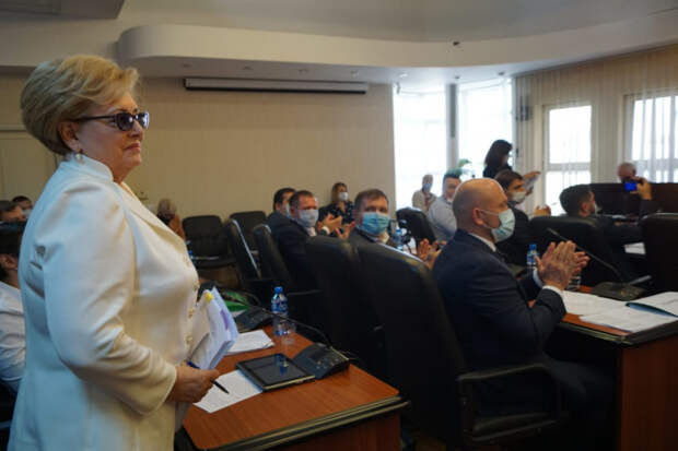 Вера Галушко избрана председателем Городской Думы Краснодара