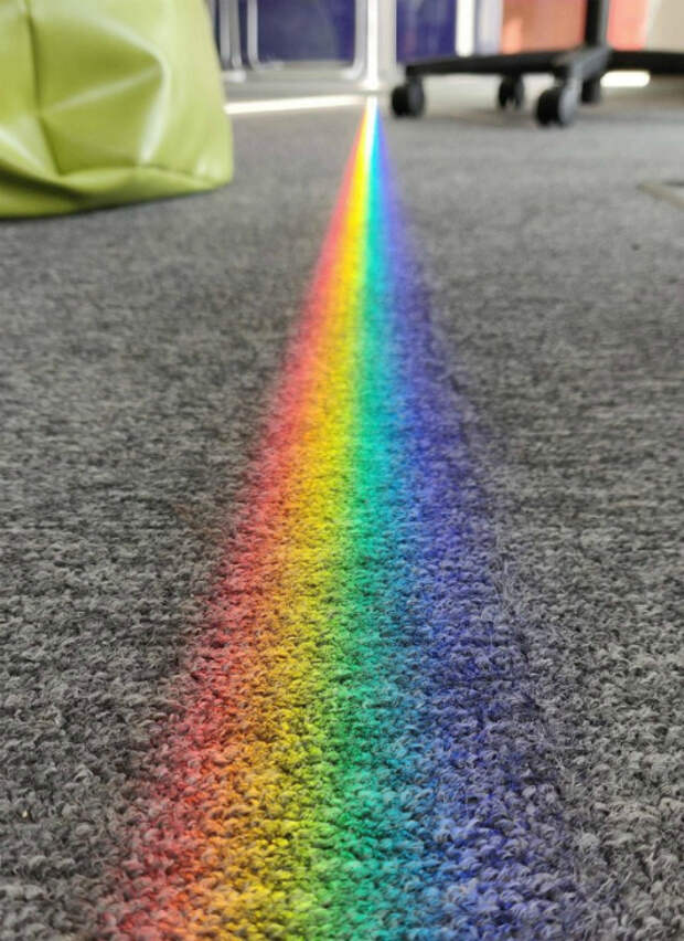 Узкая полоса радуги. | Фото: Yaplakal.