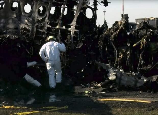 Эксперты восстановили полную картину авиакатастрофы в Шереметьево