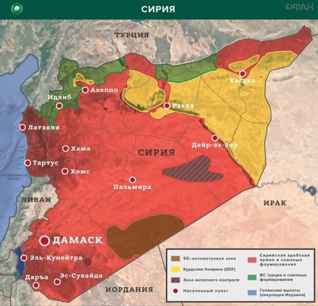 Сирийская армия освободила от боевиков населенные пункты в Алеппо и Идлибе