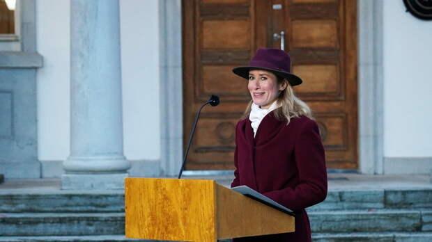 Премьер Эстонии заявила о планах посетить линию соприкосновения в Донбассе