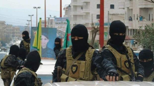 Четверо сирийцев были застрелены курдскими боевиками при разгоне митинга в Манбидже