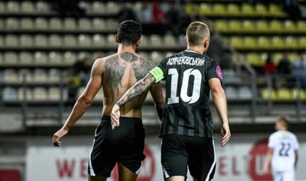 «Заря» принесла Украине первую победу в еврокубках-2021/22