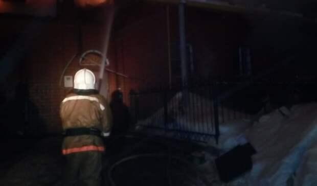ВНижнем Тагиле заодин вечер сгорели частный дом иквартира
