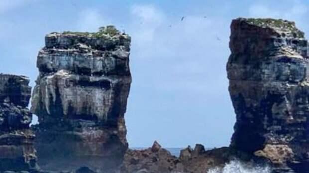 На Галапагосах обрушилась Арка Дарвина