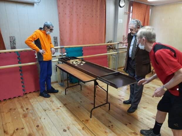 Пенсионеры из Алтуфьева соревновались в жульбаке