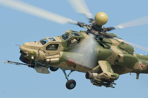 """Вертолет Ми-28НМ Пресс-служба холдинга """"Вертолеты России"""""""
