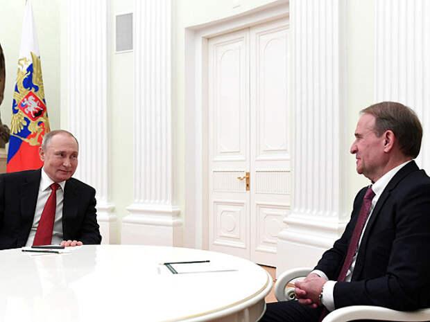 СНБО: Кума Путина Медведчука могут «охотно» обменять на отправленных в российские тюрьмы украинцев