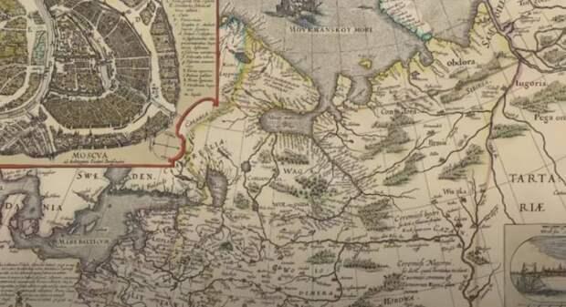 Старые географические карты вызывают вопросы к общепринятой исторической науке