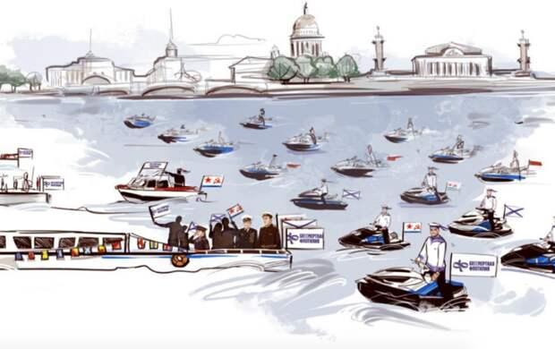 """В Петербурге впервые пройдет акция """"Бессмертная флотилия"""": что это такое"""