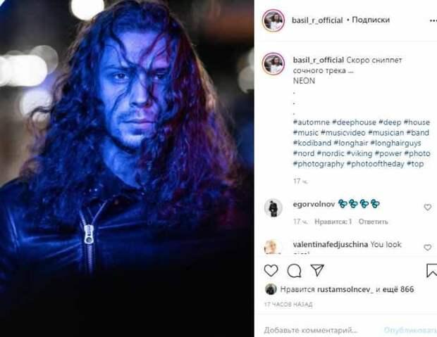 «Скоро сниппет сочного трека «NEON»: красавчик-сын Рыбина и Сенчуковой пробует себя в музыке