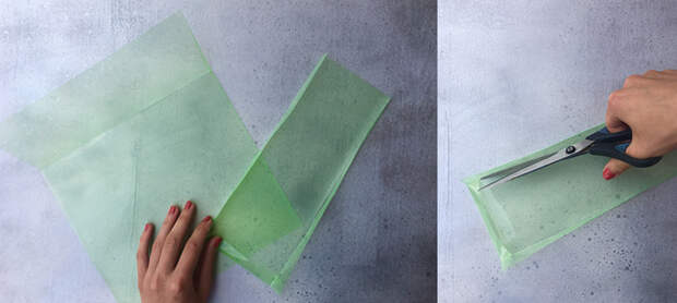 Необычный способ использования папок для документов для модного образа