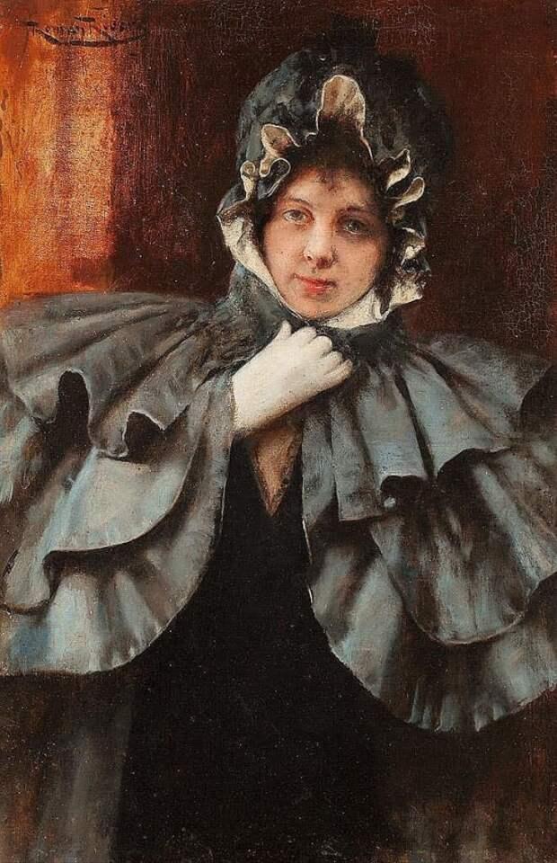 Художник Romаn Ribera Cirera (1848 – 1935). В мазурке всё должно решиться