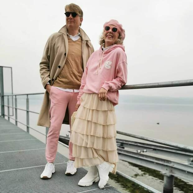 Марк и Аннет – стильные пенсионеры, смелым образам которых завидует молодежь