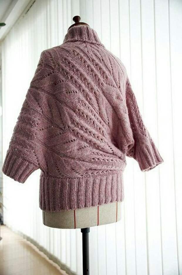 Креативный японский свитер с выкройкой
