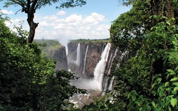 Трансграничный заповедник Окавонго-Замбези   интересное, мир, национальный парк