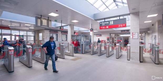 Получасовых очередей на станции МЦК «Ростокино» нет — Дептранс
