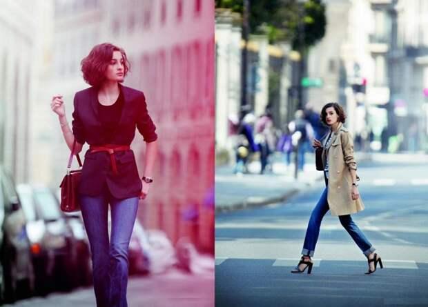 французский стиль одежды фото
