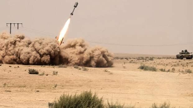 Сирийская армия перехватила большую часть ракет Израиля