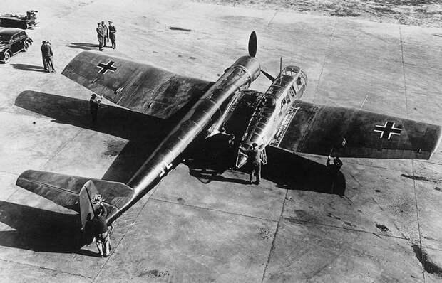 Для чего «Люфтваффе» понадобился странный самолет с кабиной сбоку