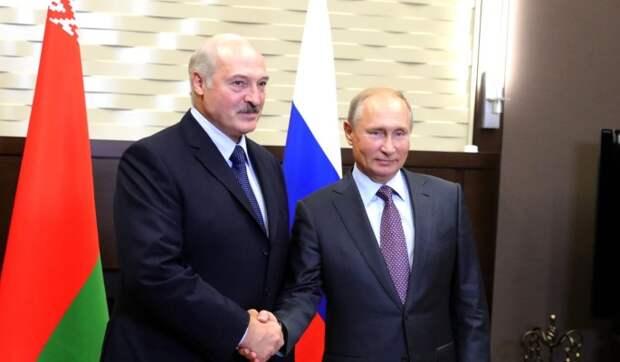 Лукашенко раскрыл подробности разговора с Путиным