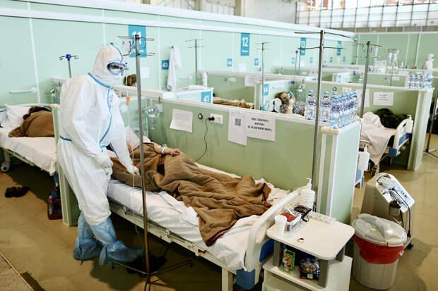 В России за сутки выявлено 9163 случая коронавируса