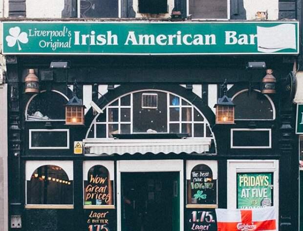7 атмосферных фото витрин старинных магазинов Ливерпуля