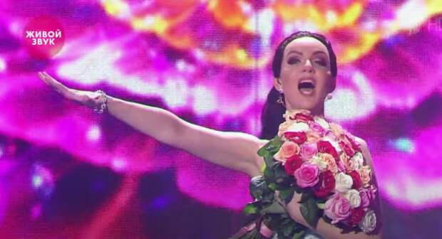 Валерия Ланская выступила в образе Нетребко в шоу «Точь-в-точь»