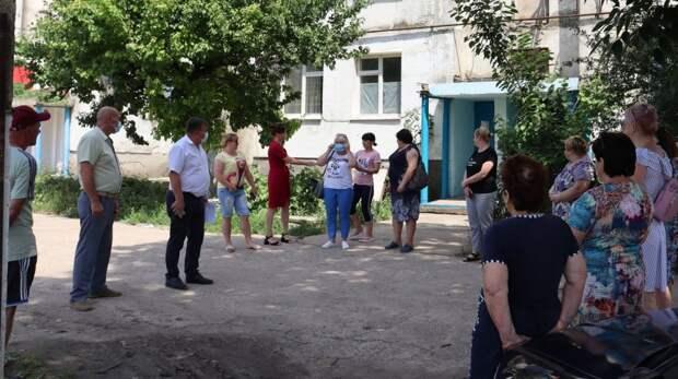 Михаил Слободяник встретился с жителями Зерновского и Сизовского сельских поселений