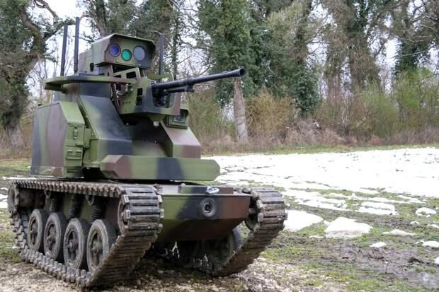 Сербский спецназ получит новых боевых роботов Mali Milos
