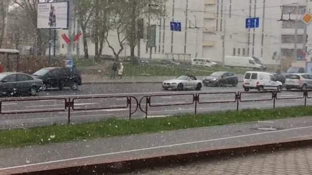Сегодня днём в Минске на 20 градусов холодней, чем было сегодня ночью