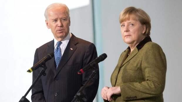 """Байден бросил Европу после споров с Меркель по """"Северному потоку – 2"""" – СМИ"""