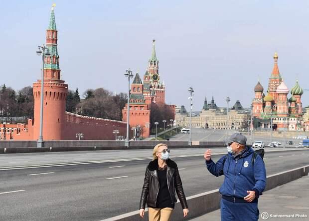В Москве из-за коронавируса выходные продлили до 20 июня