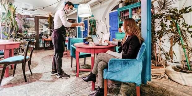 Ресторанам «Чайхона №1» и «Бараshka» в ЦАО грозит закрытие за нарушение антиковидных мер. Фото: Е. Самарин mos.ru