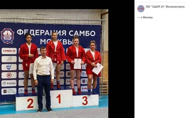 Самбистки с Вятской взяли золото и серебро на первенстве Москвы