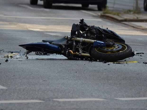 Более 50 человек пострадали в ДТП с мотоциклистами в Москве с начала года