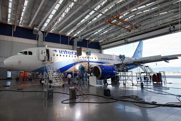 Мексиканская Interjet пустила на запчасти четыре самолета SSJ100