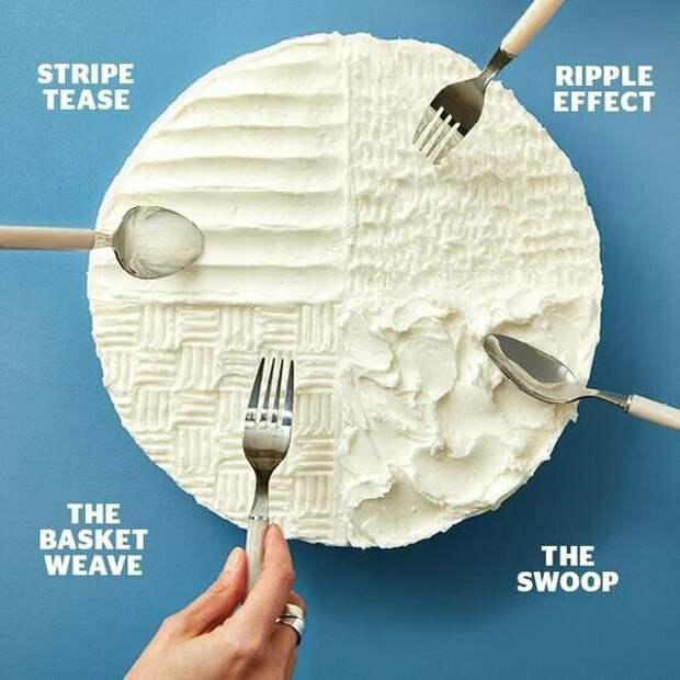 4 способа украсить пирог