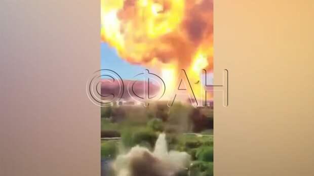 Шестнадцать человек находятся в больнице после взрыва на АЗС в Новосибирске
