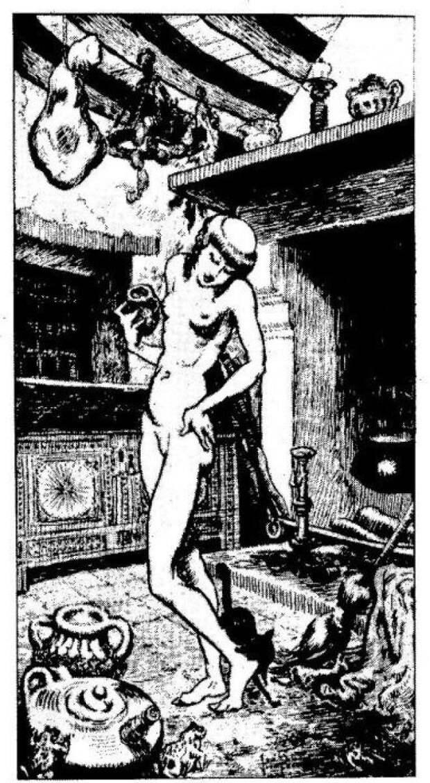 Магия, наркотики и интим: Как возник традиционный образ ведьмы на метле